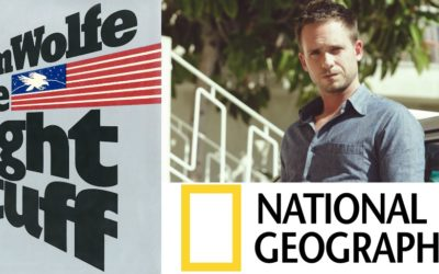 """Patrick J. Adams to Star in National Geographic Series """"The Right Stuff"""""""