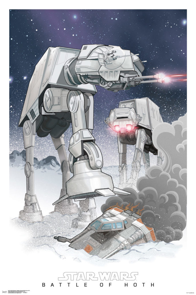 Trends International Battle of Hoth poster