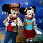 Video: Mickey and Minnie Get Groovy with D23 Members at Mickey Mouse's Roller Disco Party