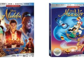 """Animated Classic """"Aladdin"""" Getting Walt Disney Signature Collection Release, Live-Action Film Coming to Blu-Ray"""