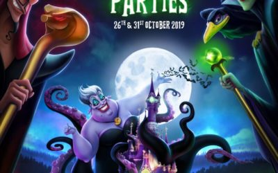 Halloween Parties Return to Disneyland Paris This Fall