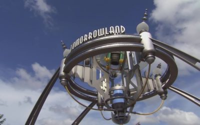 Magic Kingdom's Tomorrowland Marquee Getting a New Look