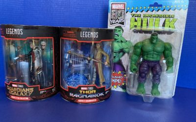 Toy Review: Marvel Legends Collector, Grandmaster, and 80th Anniversary Hulk (SDCC Exclusives)