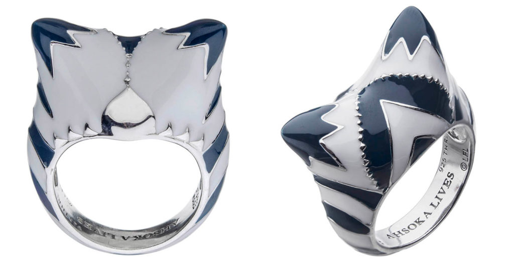 The Ahsoka Tano ring from the new RockLove X Star Wars collection.