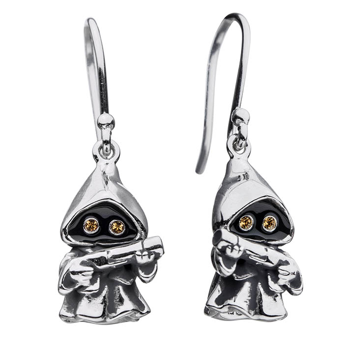 Jawa earrings from the new RockLove X Star Wars collection.