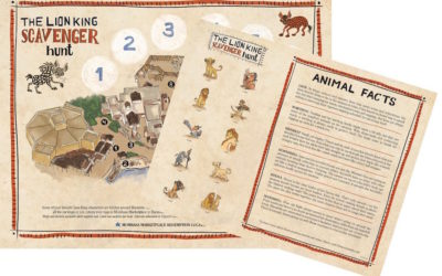 """The Lion King"" Scavenger Hunt, New Dooney & Bourke Collection Coming to Disney's Animal Kingdom"