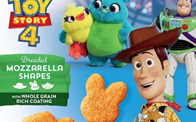 """""""Toy Story 4"""" Breaded Mozzarella Shapes Hit Grocery Store Shelves"""