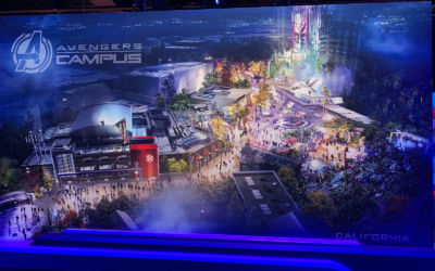 Avengers Campus Coming to Disney Parks in California and Paris