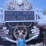 Disneyland Guest Uses Return Ticket Won as Prize for 30th Anniversary in 1985