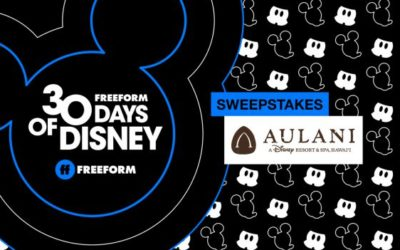"""Enter Freeform's """"30 Days of Disney Sweepstakes"""" for a Chance to Win a Trip to Disney's Aulani Resort"""