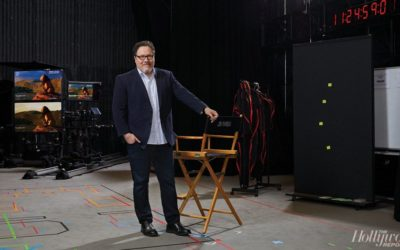 "Jon Favreau Talks ""The Mandalorian"" and Technology with The Hollywood Reporter"