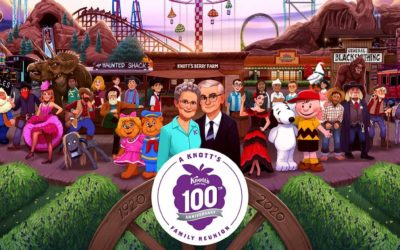 "Knott's Berry Farm Announces 100th Anniversary ""A Knott's Family Reunion"" Summer-Long Event for 2020"