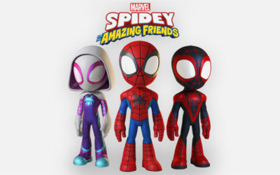 """New Animated Spider-Man Series """"Spidey and His Amazing Friends"""" Coming to Disney Junior"""