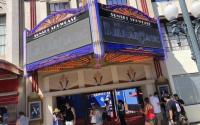 Photos: New Sunset Showcase Theatre Digital Marquee for Mickey's PhilharMagic