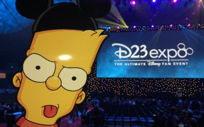 Recap: Day 2 D23 Expo 2019 — Disney Studios Panel, Haunted Mansion Celebration, The Simpsons
