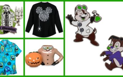 Trick or Treat! New Halloween Merchandise Arrives on shopDisney