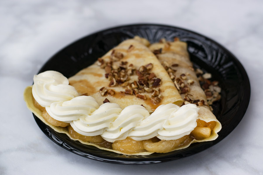 Harvest Apple Crépe from Amorette's Patisserie for WonderFall Flavors at Disney Springs 2019