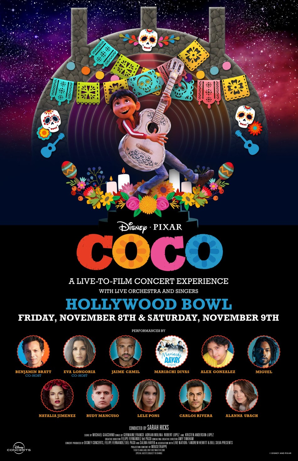 Disney And Pixar's 'Coco' Comes To The Hollywood Bowl For The First Time Live In Concert