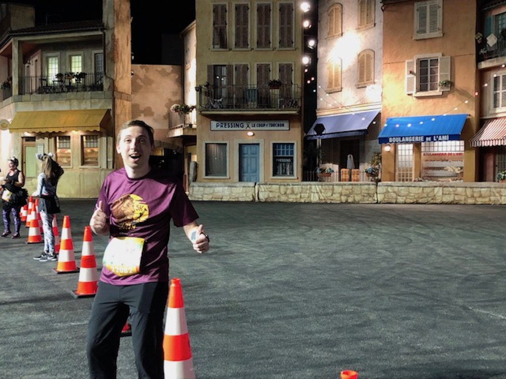 Hey, I'm in a stunt show!