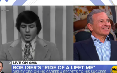 """Good Morning America"" Shares Footage of Bob Iger as a News Reporter at Ithaca College"