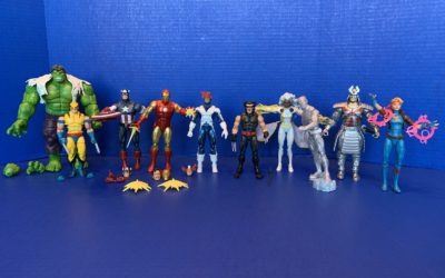 Toy Review: Marvel 80 Years by Hasbro (Captain America, Iron Man, Hulk, X-Men)