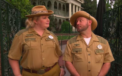 Jungle Cruise Skippers Give a Tour of the Haunted Mansion in Puntastic New Video