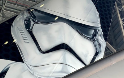 LATAM Airlines Group Reveals Star Wars: Galaxy's Edge-Inspired Stormtrooper Plane