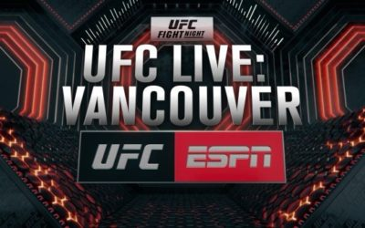 """New Weekly Show """"UFC Live"""" Debuts on ESPN2 on September 13"""