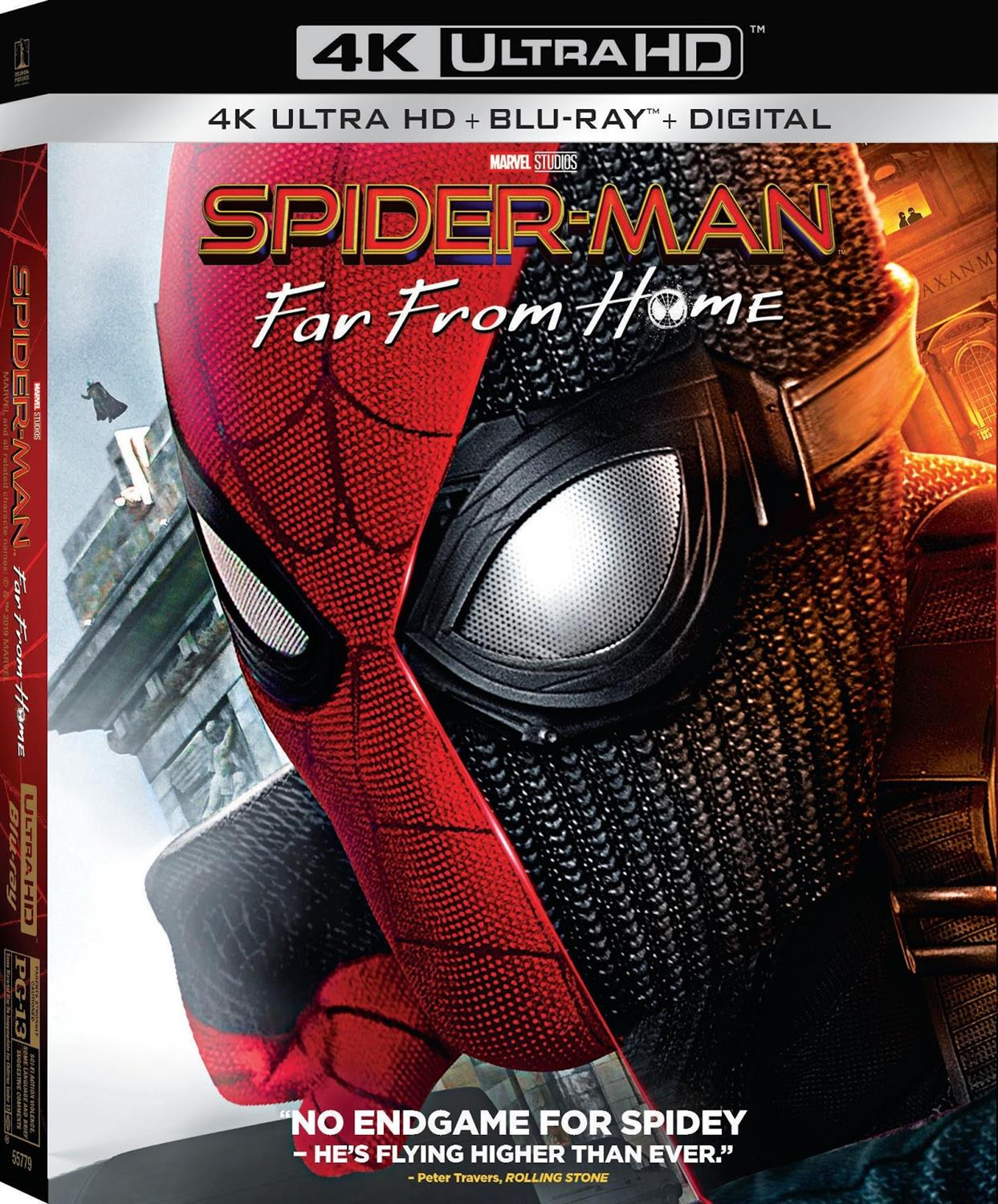 Spider Man Far From Home Digital Blu Ray And Dvd Releases Announced Laughingplace Com