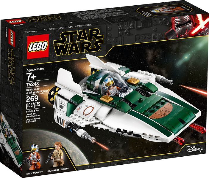LEGO® Star Wars™ 75248 – Resistance A-Wing Starfighter™ - $29.99