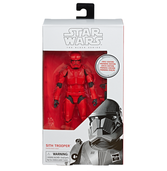 STAR WARS: THE BLACK SERIES 6-INCH First Edition Sith Trooper - $19.99