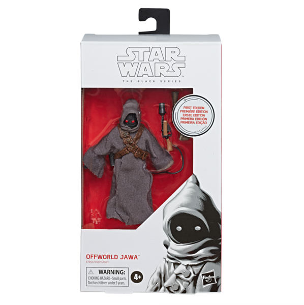STAR WARS: THE BLACK SERIES 6-INCH First Edition Offworld Jawa Figure - $19.99