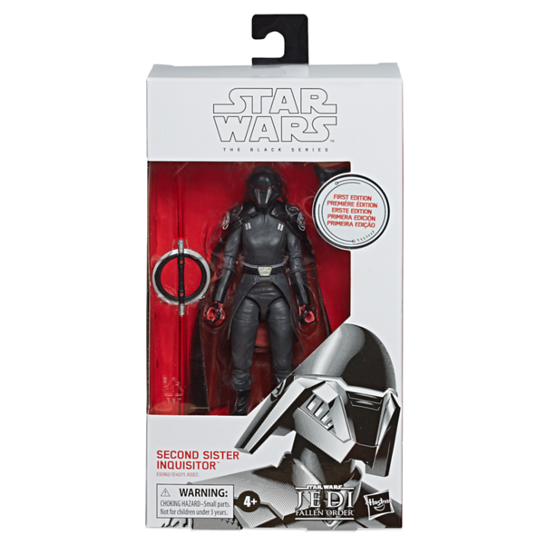 STAR WARS: THE BLACK SERIES First Edition Second Sister Inquisitor - $19.99