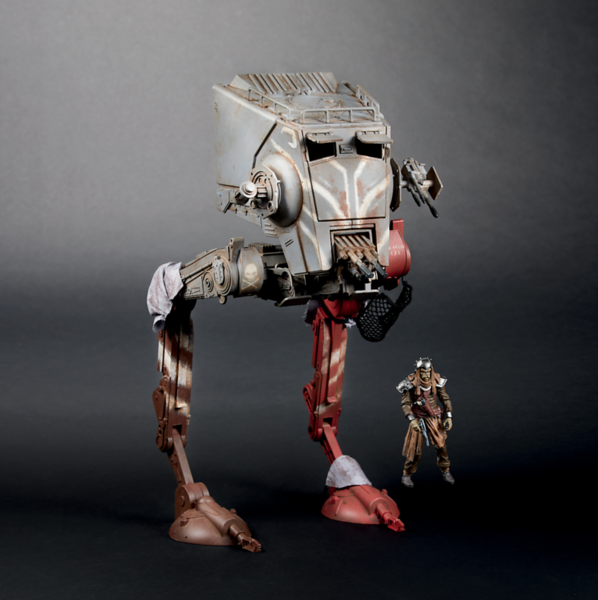 STAR WARS: THE VINTAGE COLLECTION THE MADALORIAN AT-ST RAIDER Vehicle - $79.99