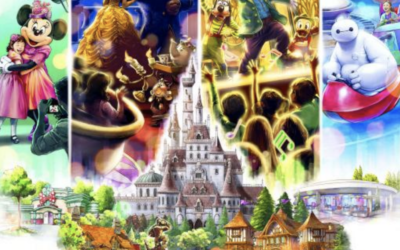 "Tokyo Disneyland's Beauty and the Beast Dark Ride, ""New Fantasyland"" Set to Open on Park's 37th Anniversary"