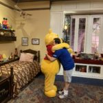 Winnie The Pooh Meet and Greet Returns the UK Pavilion at Epcot