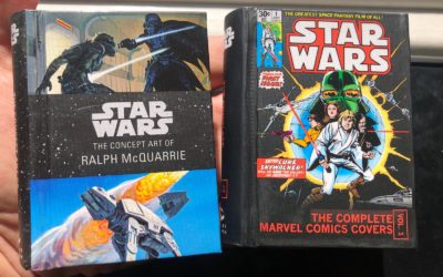 """Book Review: """"Star Wars: The Concept Art of Ralph McQuarrie"""" and """"The Complete Marvel Comics Covers"""""""