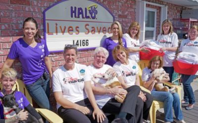 Disney VoluntEARS Donate Linens and Love to Rescue Animals at H.A.L.O. Animal Shelter