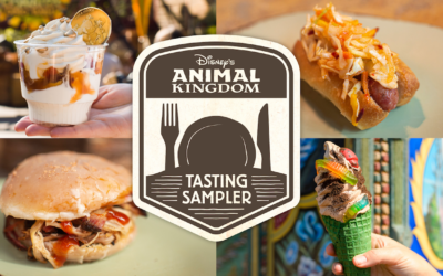 Disney's Animal Kingdom Debuts the Winter 2019 Tasting Sampler October 8th
