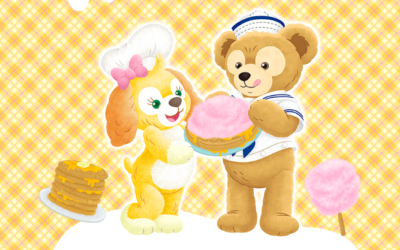 Duffy Friend CookieAnn Coming to Tokyo DisneySea This December