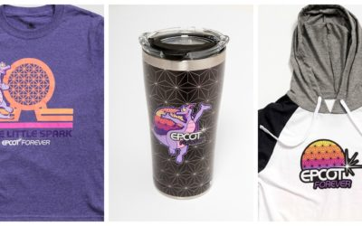 First Look at Nostalgic Epcot Forever Merchandise