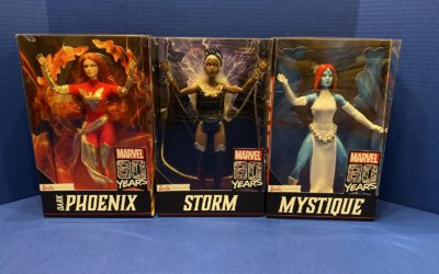 Doll Review: Marvel 80th Barbie Signature X-Men Collection (Storm, Dark Phoenix, Mystique)