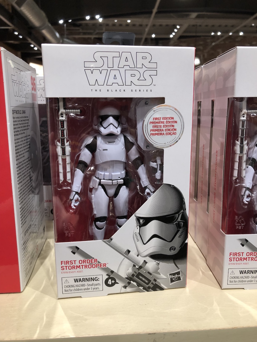 """First Order Stormtrooper toy, inspired by the """"Star Wars: The Last Jedi"""""""