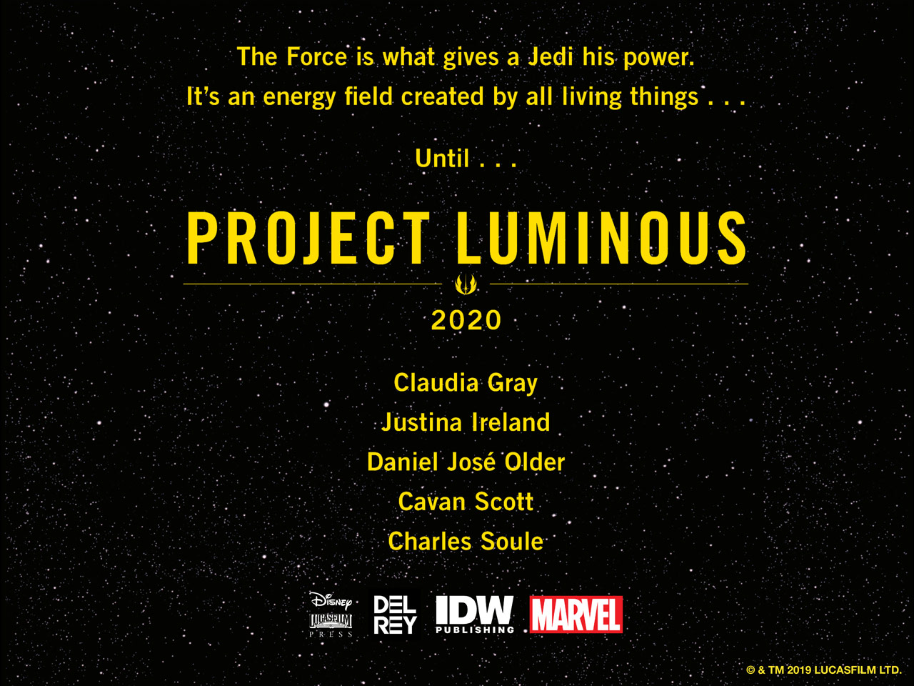 Project Luminous details from NYCC 2019