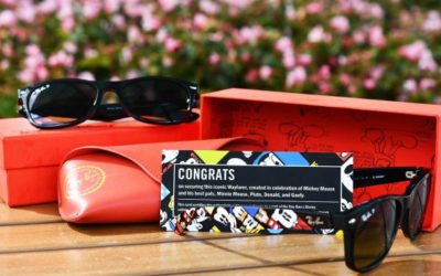 Ray-Ban Wayfarer Frames Featuring The Fab Five Debuting Exclusively at Disney Parks