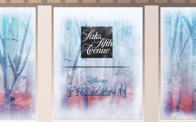 "Saks Fifth Avenue to Celebrate ""Frozen 2"" With Window Display, Enchanted Forest Experience"