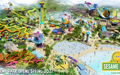 SeaWorld Parks & Resorts to Open New Sesame Place Theme Park in San Diego