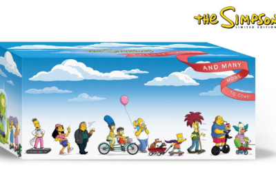 """The Simpsons"" Limited Edition 20 Season DVD Box Set Coming December 3rd"