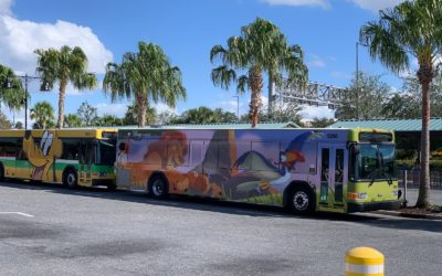 WiFi Now Available on Board Select Walt Disney World Buses
