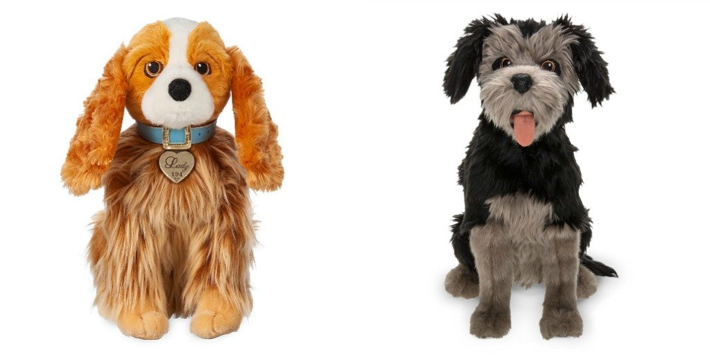 Adorable Plush Inspired By Live Action Lady And The Tramp Available On Shopdisney